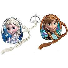 Disney OE4353 - Gorra con trenzas, diseño de Anna de Frozen Anna/Naranja quemado Anna/Arancio Bruciato Talla:54cm