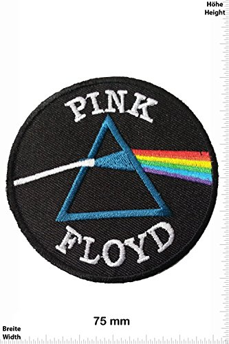 Patch - Pink Floyd Rainbow - MusicPatch - Rock - Chaleco - toppa - applicazione - Ricamato termo-adesivo - Give Away