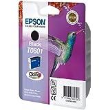 Epson T0801 - Cartouche d'encre d'origine - Noir