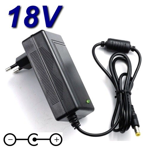 Netzadapter Ladegerät 18V für Heimtrainer Kettler Ergometer GX1