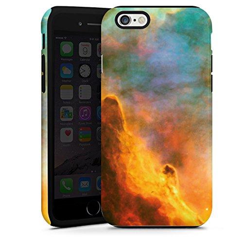Apple iPhone 4 Housse Étui Silicone Coque Protection Espace Galaxie Galaxie Cas Tough terne