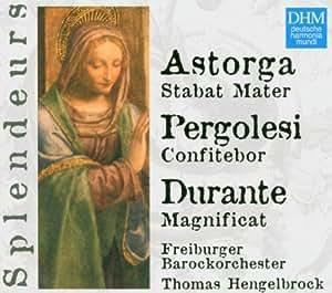 Dhm Splendeurs: Durante, Astorga, Pergolesi