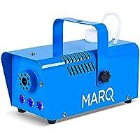 MARQ Fog 400 LED - Máquina de humo de 400 W con LEDs para efectos pirotécnicos, líquidos en base de agua, para fiestas y eventos, color azul