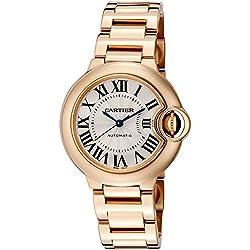 Cartier Ballon Bleu de Cartier Reloj de mujer automático 33mm W6920068