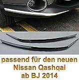 NISSAN QASHQAI 2014 2015 2016 CHROM STOSSFÄNGER LEISTE SCHUTZLEISTE