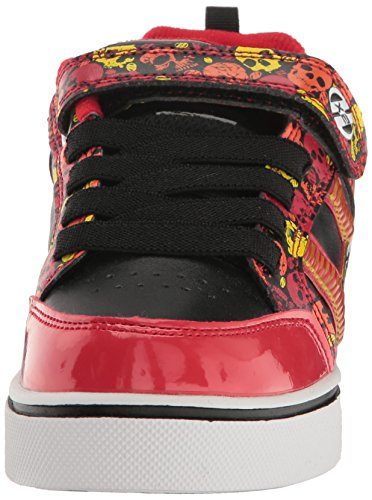 Heelys Kids Bolt Plus x2 Sneaker Red/Black/Yellow/Skulls