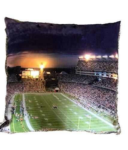 Kissenbezug mit LED-Beleuchtung, Motiv New England Patriots Gillette Stadion, LED-Kissenbezug, Nachtlicht, Nachtlicht Nur Abdeckung! 40,6 x 40,6 cm -