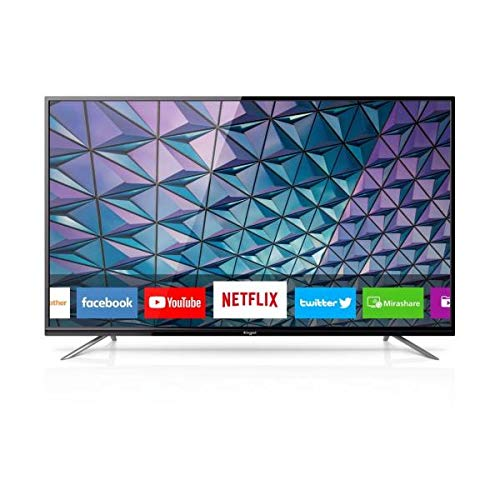 Engel LE5580SM - Smart TV LED 4K UHD, Color Negro