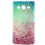 Gel Case for Samsung Galaxy Core 2 G355H - Funda Protective Flexible Silicona Gel - Diseñado por exclusivamente para Samsung Galaxy Core 2 Teléfono Móvil,Hermosas flores