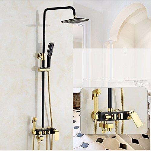 ZXY-wedel kupfer schwarzes gold dusche sprinkler waschmaschine 4 3 bad dusche, klimaanlage