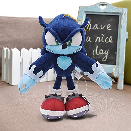 xuritaotao 31 cm 12,4 Zoll Sonic Plüschtiere Sonic The Hedgehog & Amp; Schwarzer Schatten Der Igel-Plüsch Füllte Spielzeug-Puppe Für Kinder Kindergeschenke An Neu
