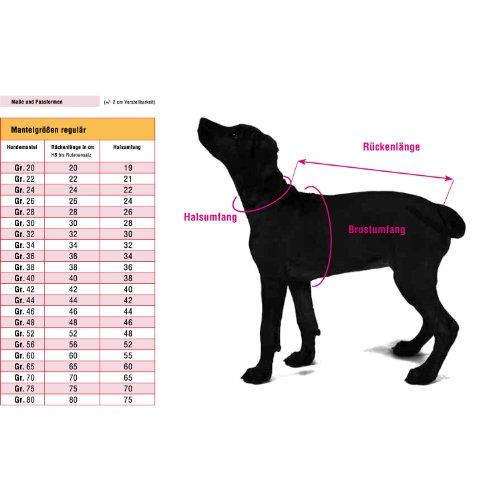 Wolters Hundemantel Outdoorjacke Jack rot 46 cm - 3