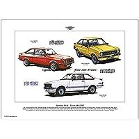 Ford Escort MK II Print (1975–80)
