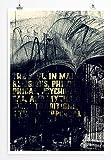Blackened - modernes abstraktes Bild Sinus Art - Bilder, Poster und Kunstdrucke