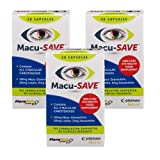 Macu-SAVE Food Supplement for Macular Health with Meso-Zeaxanthin/Lutein and Zeaxanthin - 90 Capsules (3 x Pack of 30 Capsules)