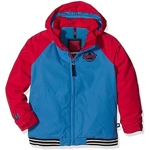 Burton giacca da snowboard da ragazzo MS Game Day Jacket, Ragazzo, Snowboardjacke MS GAME DAY JACKET, Glacr Blu/Process Rd, 2T