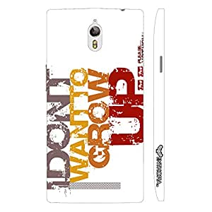 Enthopia Designer Hardshell Case Don't Want to Grow up Back Cover for Oppo Find 7