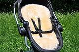 Baa Baby alle Stil Schaffell Kinderwagen/Buggy Sitzauflage–Langes Haar