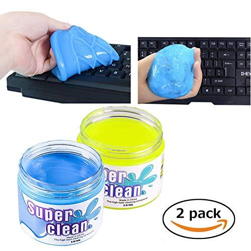 Preisvergleich Produktbild FancyAuto Staubreiniger Slime Magic Cleaning Gel für Keyboard Phone Laptop Car Interior etc