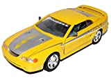 Motormax Ford Mustang IV SVT Cobra Coupe Gelb 1994-1998 1/24 Modell Auto