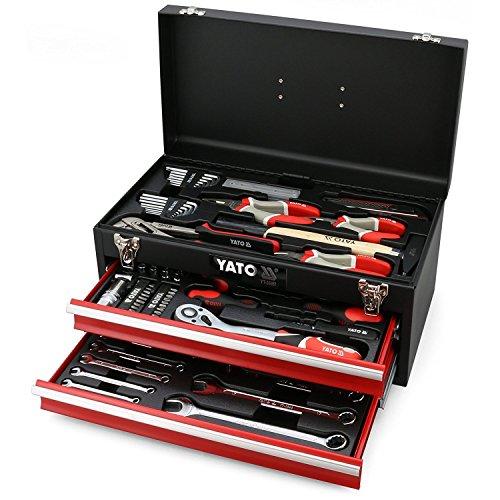 Yato yt-38951 Werkzeugkasten mit Werkzeuge 80pcs