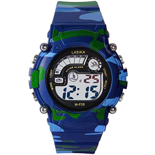 Hiwatch Relojes Deportivos Impermeable para los Niños/Niñas Reloj de Pulsera Digital a...