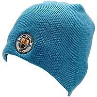 cielo Manchester City FC blu cappello Beanie calcio nuovo club distintivo  cresta 2de58cf151db