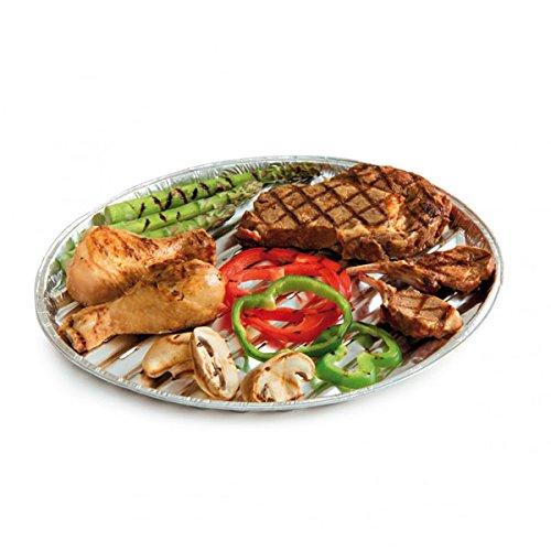 Barbecook Bandeja para Parrilla, Gris, 35x35x3 cm, 2230224000