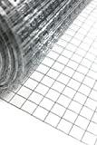 1' x 1' welded wire mesh, 15m or 30m roll in 3 widths (48'x15m)