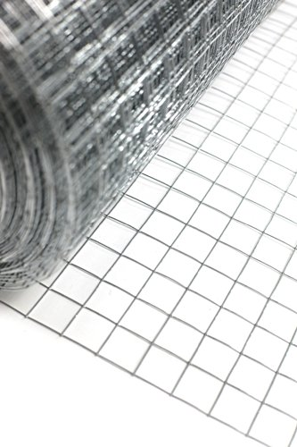 """1"""" x 1"""" welded wire mesh, 15m or 30m roll in 3 widths (48""""x15m) Test"""