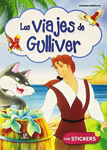Los Viajes de Gulliver (Stickerclásicos) por Equipo Editorial