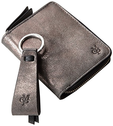 Marc O'Polo Gift Set 51116839801301 Geldbörse mit Schlüsselanhänger 10x12x3 cm (B x H x T) Grau (charcoal 929)