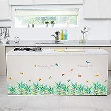 Cchpfcc 3D Papillon Fresh Plinthe Pvc Stickers Muraux Plinthe Enfants Salon Chambre Salle De Bains Cuisine Fenêtre Balcon Décor À La Maison