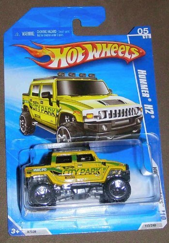 hot-wheels-2010-hw-city-works-05-of-10-yellow-city-park-hummer-h2-by-hot-wheels