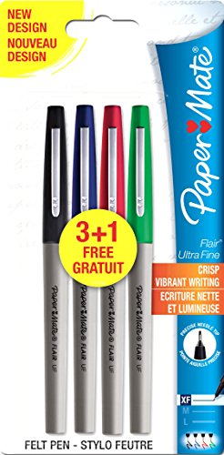 paper-mate-flair-ultra-fine-fibre-tip-pen-05mm-assorted-standard-colours-pack-of-3-1
