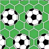 Ball Fussball 100% Baumwolle Baumwollstoff Kinder