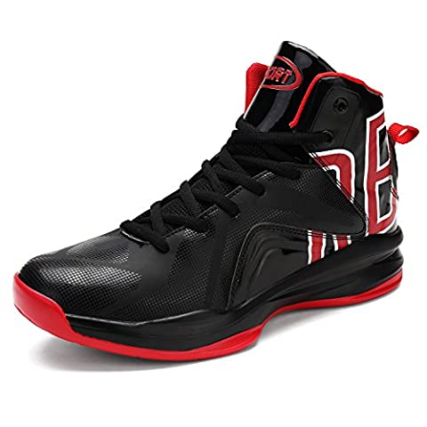 ASHION Herren basketball-shoes Outdoorschuhe Sneaker(BR EU40) (Porzellan Stoff)
