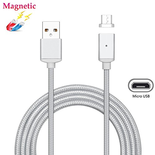 3-ladestation Lg (Magnetische Micro USB Kabel, superior ZRL® Nylon, fast Sync Quick Charger Cable USB zu Micro USB 2.0 Android Ladekabel für Android, Samsung, HTC, Nokia, Sony, Nexus, LG, und mehr)