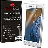 TECHGEAR® Nokia 3 Verre, Protecteur d'Écran Original en Verre Trempé Compatible pour Nokia 3