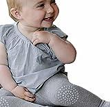 bobo4818 Stulpen, Lange Hose Knie-Pads Creepy Crawler Hilfe Knie Protector,Gummibeschichtung An Knien Und Zehen, (Height:80CM, Gray)