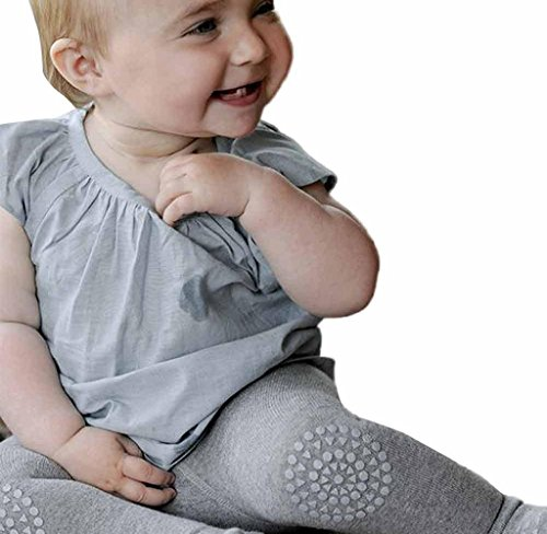Stulpen,bobo4818 Lange Hose Knie-Pads Creepy Crawler Hilfe Knie Protector,Gummibeschichtung An Knien Und Zehen, (Height:80CM, Gray)