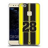 Head Case Designs Yellow Strike Speed Soft Gel Hülle für Huawei P10 Lite