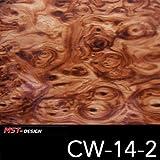 MST-Design Wassertransferdruck WTD Holz Wurzelholz Wood CW 14-2 50 cm Breite 1 m Film/Wassertransferdruckfilm WTP Water transfer printing Hydrographics