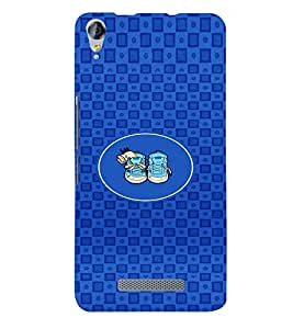 PRINTVISA Abstarct Cute Shoes Case Cover for MICROMAX JUICE 3 PLUS
