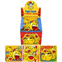 6 Smiley Face Emoticon Puzzles Toys Gift Favours Childrens Kids Party Bag Fillers