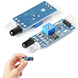 RBTMKR IR Infrared Obstacle Avoidance Sensor Module for Arduino Smart Car Robot, and other Development Environments