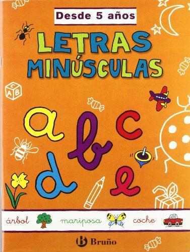 Letras minúsculas (desde 5 años) (Castellano - Material Complementario - Grandes Cuadernos)...