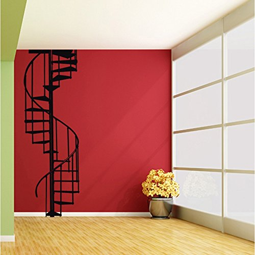 Tatoutex Stickers Escalier En Colimaa On Noir L 80cm X H 226cm