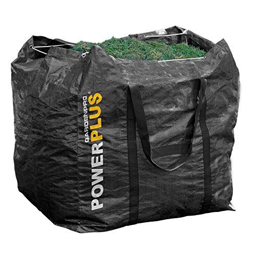 POWXGSG4 Garten Abfallsack Laubsack Schwerlast Gewebetasche 270 Liter