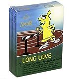 AMOR Long Love 3-er Pack Kondome aktverlängernd von Extasialand